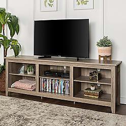 Porch & Den Dexter 70-inch Driftwood TV Stand (70 Essentials TV Stand - Ash Grey)