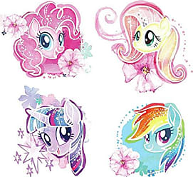 RoomMates RoomMates RMK3664SCS My Little Pony The Movie Peel and Still Wall Decals Multi