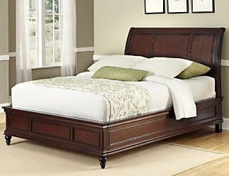 Home Styles Lafayette Cherry Queen Sleigh Bed by Home Styles