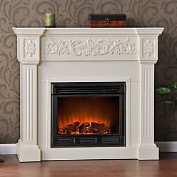 Southern Enterprises Calvert Ivory Electric Fireplace - FA9279E