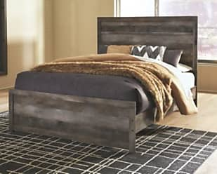 Ashley Furniture Wynnlow Queen Panel Bed, Gray