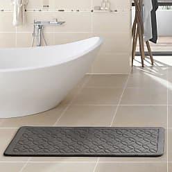 VCNY Chanel Memory Foam Bath Runner Chocolate - CE5-RUN-2460-GP-CH