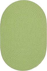 Rhody Rug Fun Braids Solid Lime 10X13 Oval