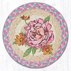 Earth Rugs TS-572F Set of Trivets 10x10 Pink
