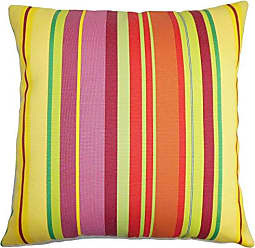 The Pillow Collection Laird Stripes Bedding Sham Yellow Orange King/20 x 36