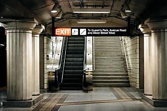 Noir Gallery TTC Museum Metro Station in Toronto Wall Art - ME-10-TW-08