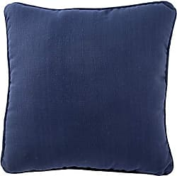 Jaipur Solid Pattern Blue Polyester Polly Fill Pillow, 20-Inch x 20-Inch, Insigna Sunnyside