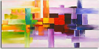 Omax Decor OMAX Derivitives of Color Oil Painting on Canvas - 48W x 24H in. - M 3089