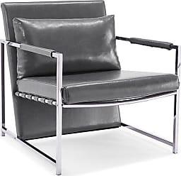 Whiteline Jameson Arm Chair White - CH1371P-WHT