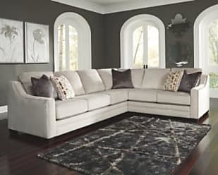 Ashley Furniture Marigny 2-Piece Sectional, Silver