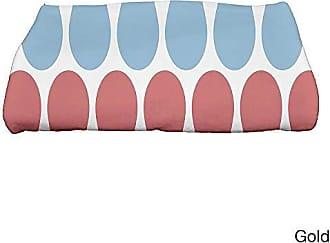 E by Design Ebydesign Multi Colored Picks Geometric Print Bath Towel 28 x 58 Yellow