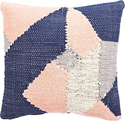 Jaipur Living Rugs Cosmic by Nikki Chu Abstract Cotton and Leather Indoor Throw Pillow - PLW103041