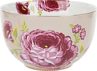 Pip Studio Floral Bowl - Khaki - 23cm