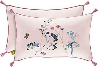 Five Queens Court Blakely Floral Boudoir Throw Pillow, Rose, 20x12