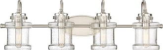 Quoizel Danbury 32 4-Light Bath Vanity in Brushed Nickel