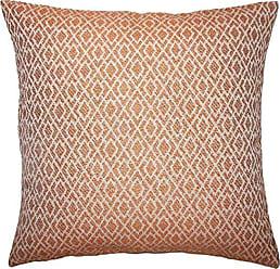 The Pillow Collection Calanthe Geometric Bedding Sham Melon Queen/20 x 30