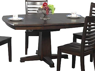 Winners Only Sante Fe Pedestal Dining Table with 15 in. Butterfly Leaf - DS4257CX