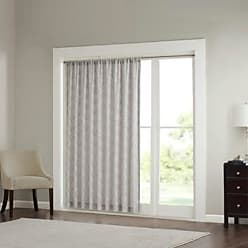 Jla Home Clarissa Diamond Sheer Window Curtain Gray 100x84 JLA Home