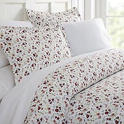 iEnjoy Home Duvet Cover Set Blossoms Patterned KingPink