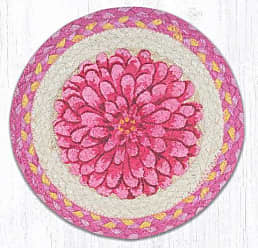 Earth Rugs TS-571BF Set of Trivets 10x10 Pink