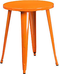 Flash Furniture CH-51080-29-OR-GG Colorful Restaurant 24RD Orange Metal Table