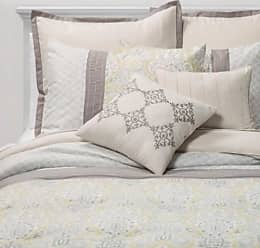 Sunham Home Fashions Sunham Home 8pc Hallie Medallion Comforter Set - Yellow/Gray - Size:Queen Sunham Home Fashions