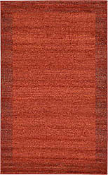 Unique Loom Del Mar Collection Contemporary Transitional Terracotta Area Rug (3 x 5)