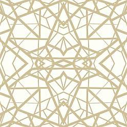 RoomMates Shatter Geometric Peel and Stick Wallpaper White - RMK10687WP