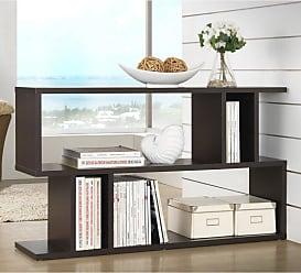 Baxton Studio Goodwin 2 Level Bookshelf - FP-2DS-SHELF