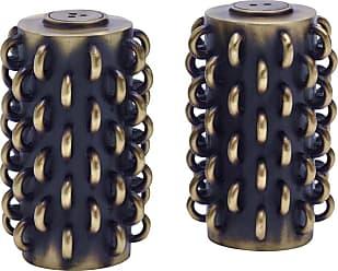L'OBJET Tulum Rings Salt & Pepper Shaker - Set of 2