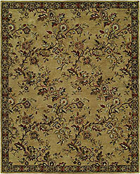 Kalaty NM-068 23 Newport Mansions Area Rug 2 x 3 Chateau Gold