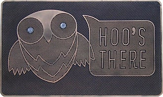 First Impression Hoos There Outdoor Door Mat - A1HOME200040