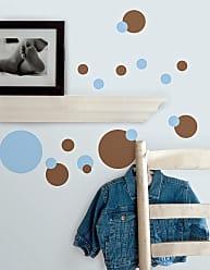 RoomMates Just Dots Blue/Brown Peel & Stick Appliques - RMK1246SCS