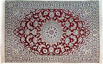 Solo Rugs Nain Hand Knotted Area Rug 3 9 x 5 9 Ivory