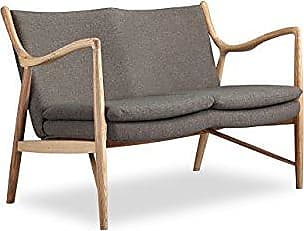Kardiel Copenhagen 45 Mid-Century Modern Loveseat/2 Seat Sofa, Gosford Twill