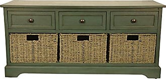 Decor Therapy FR6298 Bench, Antique Teal