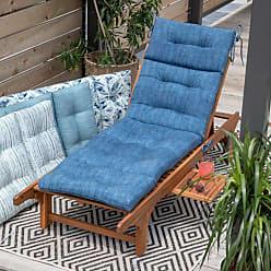 Belham Living New Harbor 72 x 22 in. Outdoor Chaise Lounge Cushion Indigo Stripe - NEW HARBOR44