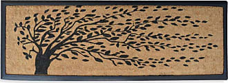First Impression Falling Leaves Double Door Mat - A1HOME200078