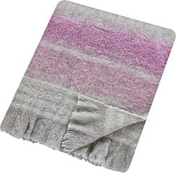 Sanderson Wisteria Falls Lilac & Gray Blanket - 140x185cm