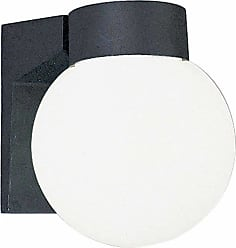 Volume Lighting V8896 1 Light 7 Height Outdoor Wall Sconce with White