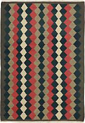 Nain Trading Persian Kilim Fars Rug 610x410 Dark Grey/Dark Brown (Handwoven, Iran/Persia, Wool)