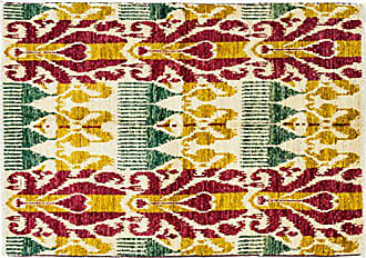 Solo Rugs Ikat Hand Knotted Area Rug 4 1 x 6 3 Multicolor