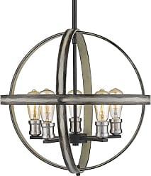 Z-Lite 472B20 Kirkland 5 Light 20 Wide Globe Chandelier Rustic