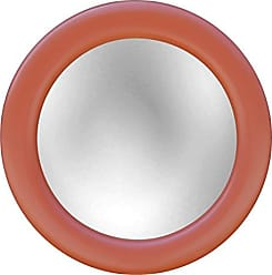 Hickory Manor House HM9722COR Round Mirror/Coral