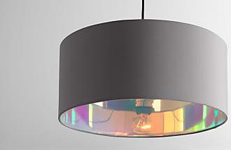 made com oro lampenschirm 45 cm grau und irisierend