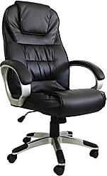 Pelegrin Cadeira Presidente em Couro Pu Pel-c2652 Preta com Massagem e Aquecimento