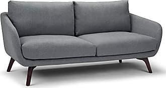 Simpli Home Simpli Home AXCAUD-03 Audra Mid Century Modern 78 inch Wide Sofa in Slate Grey Fabric