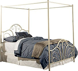 Hillsdale Furniture 1965BK Dover Canopy Bed, King, Cream