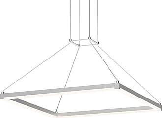 SONNEMAN 2787 Stix Square Single Light 24-1/4 Wide Integrated LED