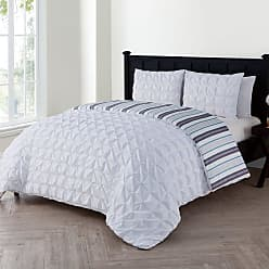 VCNY Brielle Duvet Set by VCNY, Size: Full/Queen - BTN-3DV-FUQU-IN-WH